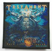 Testament - 'Dark Roots of the Earth' Woven Patch